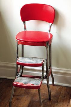 This is what is going to happen to my vintage step stool from the Sandwich Shoppe & Image result for vintage metal stool | Classroom Decor | Pinterest ... islam-shia.org