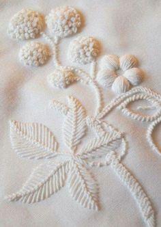 Same colour fabric as embroidery thread