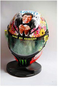 Valentino Rossi, Mugello Helmet 2012  rossi has the best helmets always
