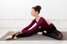 Quest for a Ballet Body: The Ballet Stretches I don't think a ballet body is in the cards for me, but who doesn't love lengthening muscles and building flexibility :)