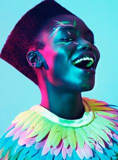 """blue summer"" institute magazine fashion editorial, model: sarah blatt"