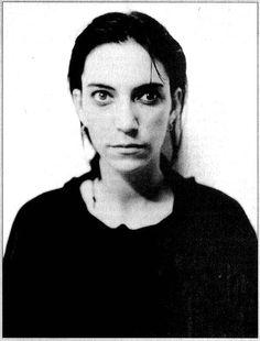 Patti Smith. Photograph by Robert Mapplethorpe.