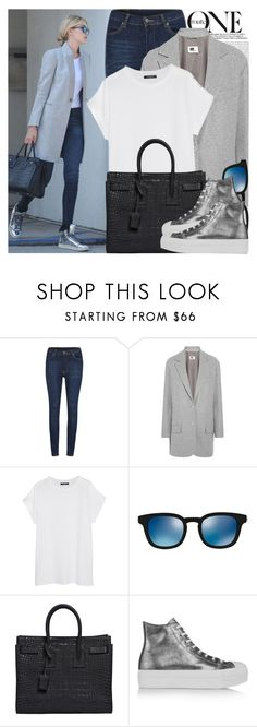 """1953. Celebrity Style: Gigi Hadid"" by chocolatepumma ❤ liked on Polyvore featuring Oris, Cheap Monday, MM6 Maison Margiela, Balmain, Oliver Peoples, Yves Saint Laurent and Converse"