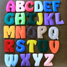 Make more felt letters, banners etc
