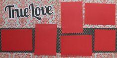 True Love Scrapbook Page Kit