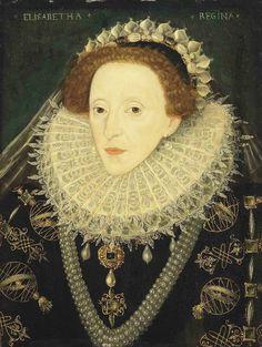 Elizabeth I, English School, c.1580