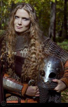 Shield Maiden. MANY died in battle.