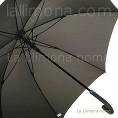 Paraguas originales online. Paraguas MP hombre marrón. Largo y antiviento. Apertura automática cierre manual. Alto 94 cm