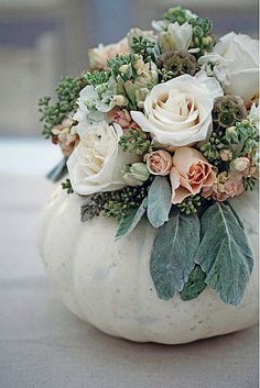 Eucalyptus Centerpieces | ... centerpiece may whisper Autumn, but it's nothing short of stunning