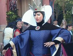 Picture of Evil Queen from Disney's movie, Snow White