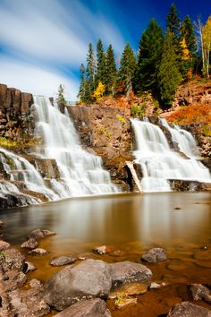 Photo Gooseberry Falls by Bryan Flanagan I lost my camera in these falls... Matt waded around trying to find it, what a trooper