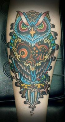 Owl and compass on Pinterest   Compass Tattoo Owl Tattoos and Owl ...