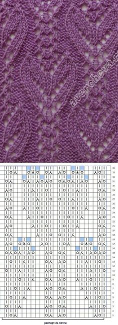 Stricknadeln Anleitung OK.RU - Krippe - - Tricot Pontos, The Effective Pictures We Offer You About Knitting Techniques cheat sheets A quality picture can tell you Lace Knitting Stitches, Lace Knitting Patterns, Lace Patterns, Knitting Designs, Knitting Needles, Stitch Patterns, Hand Knitting, Knitting Websites, Knitting Blogs