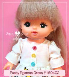Mell Chan | Puppy Pyjamas Dress Set #160402 - Angel Loves2Craft