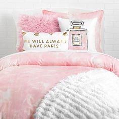 Hello Beautiful Perfume Pillow by Timree Gold