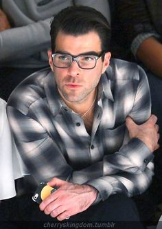 ZACHARY QUINTO.  I know that acting out emotions must be hard. So I would like to know how hard it was to act as if he had none when he played Spock. He did an incredible job especially in the second movie when he thought Kirk was dead. Amazing!