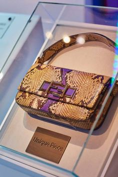 The winner of the interactive competition will receive a one-off Fendi 3Baguette