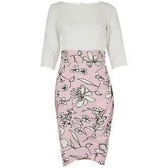 Spring Fashion 2015 - ClosetFloral Drape Dress