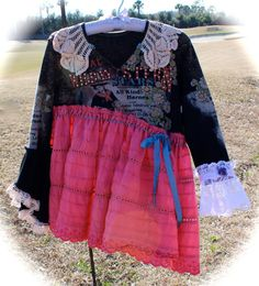 Izzy Roo Gypsy Cowgirl Rodeo Queen Collage Dress by IzzyRoo