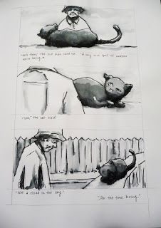 Livre lu pendant le voyage : Kafka sur le rivage_Haruki Mirakami. > Nakata sait parler aux chats.
