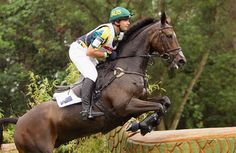 Clayton Fredericks and Ben Along Time, part of Australia's Olympic silver medal team at Beijing in 2008.