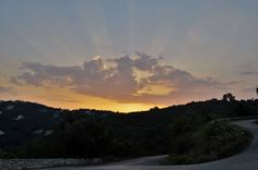 Sunset in St.Stefano