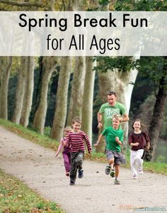 Looking for some spring break fun? These spring break ideas for all ages are sure to be a hit! Enjoy your week of fun with your family and relax a little. - MomsConfession.com