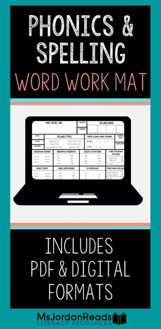 210 Word Work Resources Ideas In 2021 Phonics Teaching Literacy Activities