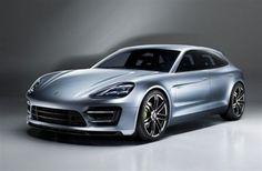 Porsche presenta en París el prototipo híbrido enchufable Panamera Sport Turismo | El 2 Caballos