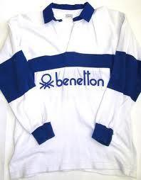 benetton rugby shirt