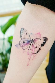 Beautiful and meaningful butterfly tattoo guide - beautiful and meaningful . - Beautiful and meaningful butterfly tattoo guide – Beautiful and meaningful butterfly tattoo guide - Watercolor Butterfly Tattoo, Butterfly Tattoo Cover Up, Butterfly Tattoo Meaning, Butterfly Tattoo On Shoulder, Tattoo Shoulder, Butterfly Print, Butterfly Tattoos Images, Butterfly Tattoo Designs, Tattoo Images
