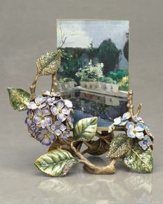 Hydrangea frame from Jay Strongwater
