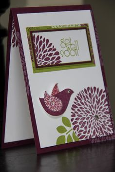 Stampin' Up! Betsy's Blossom