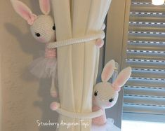 Items similar to Crochet Amigurumi Sleeping Mate Bunny ( Price is for ONE BUNNY ) on Etsy Crochet Sheep, Crochet Amigurumi, Crochet Doll Pattern, Amigurumi Toys, Crochet Animals, Crochet Hooks, Mercerized Cotton Yarn, Crochet Curtains, Doll Patterns