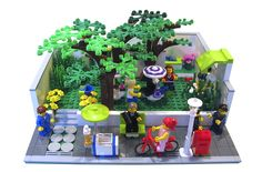 Modular Madness: Pocket Park - LEGO Town - Eurobricks Forums