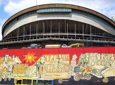 La Cachucha de la UCV y el Mural de Pedro León Zapata: