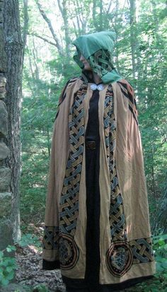 Cloak  Clay Viking with green hood & black nickle by Xephink, $80.00