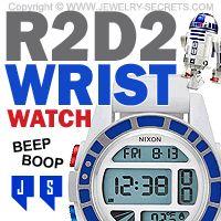 ►► R2D2 NIXON WRIST WATCH ►► Jewelry Secrets
