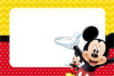 imagem mickey   Convite,Moldura e Cartão Mickey: