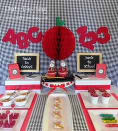 Back to School Party Food Ideas