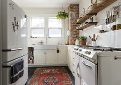 10 Gorgeous Kitchens That Prove You Need to Put a Rug in There — Kitchen Floor