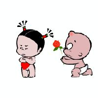 Cartoon Kiss, Baby Cartoon, Animated Emoticons, Animated Gif, Gifs, Funny Videos, Gif Bonito, Bear Gif, Love Cartoon Couple