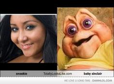 snookie when she was younger