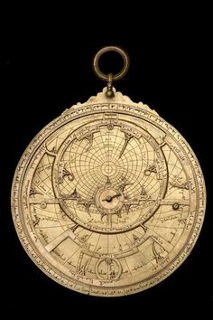 Astrolabe with Universal Projection, North African, 13th Century?