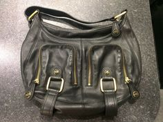 Leather is in excellent condition. Strap 33cm. | eBay!