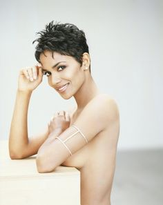 The beautiful Halle Berry..