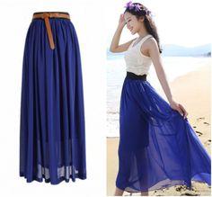1000 Images About Maxi Skirt On Pinterest Chiffon Maxi Skirts Chiffon Maxi Skirt