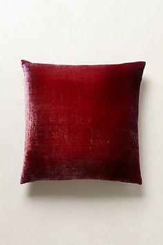 Ombre Velvet Pillow | Anthropologie