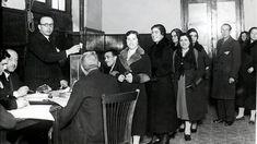 Madrid, 21.11.1933. Hoy hace 80 años las mujeres españolas votaron por primera vez.