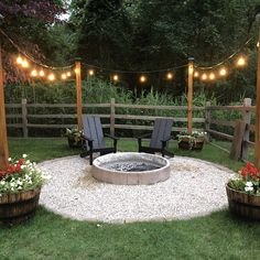 Fire Pit Seating, Fire Pit Area, Fire Pit Backyard, Fire Pit Front Yard, Fire Pit Gravel, Fire Pits, Fire Pit Landscaping Ideas, Backyard Landscaping, Backyard Patio Designs